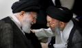 تصاویر  -  -  - تصویری از آیتالله سیدابوالفضل میرمحمدی در کنار رهبر انقلاب