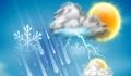پیش بینی بارش باران در استان قم