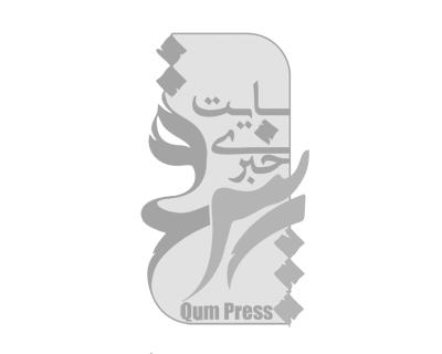 تصاویر اهتزاز پرچم متبرک حرم امام رضا(ع) در پارکمردم همدان