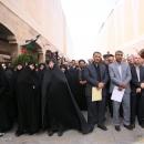 تصاویر تشییع پیکر شهید گمنام در کمیته امداد امامخمینی(ره)