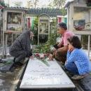 تصاویر مراسم غبارروبی گلزار شهدای تهران در هفته دفاع مقدس