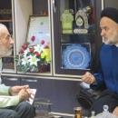 حجت الاسلام تهامی مدیر کل زندانهای قم با سردار آقا خانی دیدار نمود