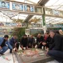 پاسداشت فرهنگ شهید وشهادت وتکریم بیوت منصوب به شهدا با حضور کارکنان زندان قم