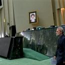 تصاویر رئیس مجلس شورای اسلامی در برنامه گفتگوی ویژه خبری
