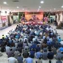 سخنرانی فرمانده جبهه مقاومت سوریه و رزمنده دفاع مقدس در زندان قم