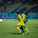 تصاویر دیدار تیم های فوتبال پارس جنوبی جم و ذوب آهن اصفهان