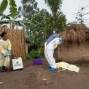 تصاویر مقابله با ابولا در کنگو