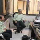 نیروی انتظامی با ایثار و از خود گذشتگی امنیت را به مردم هدیه می کند