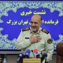 تصاویر نشست خبری سردار رحیمی فرمانده نیروی انتظامی تهران بزرگ