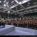 تصاویر دیدار مجمع عالی فرماندهان سپاه