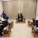 تصاویر دیدار فرمانده نیروی انتظامی با مراجع عظام تقلید قم