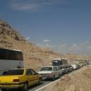 ترافیک سنگین و پرحجم در محور ایلام _ مهران