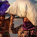تصاویر فرار غیرنظامیان از شمال سوریه