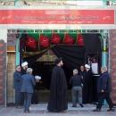 گزارش تصویری : روز هشتم از مراسم عزاداری دهه سوم ماه محرم اداره کل اوقاف و امور خیریه استان قم