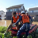 تصاویر خسارات طوفان هاگیبیس در ژاپن