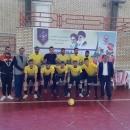 قهرمانی سربازان زندان های استان قم در رقابت های فوتسال منطقه۵ کشور