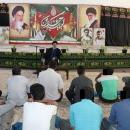 برگزاری نشست چهره به چهره مدیر کل با زندانیان اردوگاه حرفه آموزی و کاردرمانی