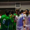 تصاویر دیدار تیم های ملی فوتسال ایران و ترکمنستان