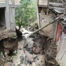 رانش زمین و سیلاب در روستای ویسرود و شهرک تاریخی امامزاده ابراهیم(ع) شهرستان شفت