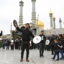 تصاویر مراسم عزاداری رحلت پیامبر اکرم (ص) و شهادت امام حسن(ع) در قم