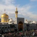 تصاویر عزاداری روز شهادت امام رضا (ع) در حرم مطهر رضوی