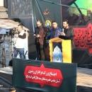 تصاویر تجمع عزاداران رضوی در حرم مطهر سلطان سید جلال الدین اشرف (ع)