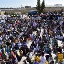 تصاویر راهپیمایی یوم الله ۱۳ آبان در شهرستان مهرستان