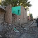 تصاویر خسارات زلزله در روستاهای ورنکش و بالسین آذربایجان شرقی