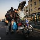 تصاویر طرح تشدید برخورد با موتورسیکلت سواران متخلف