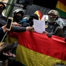 تصاویر استعفای رئیس جمهور بولیوی