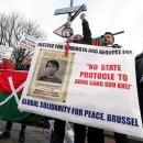 تصاویر دادگاه رسیدگی به جنایات میانمار علیه مسلمانان