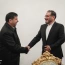 تصاویر دیدار معاون دبیر شورای امنیت ملی تاجیکستان با علی شمخانی