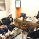 گزارش تصویری : دیدار مدیر بنیاد حفظ و نشر آثار و ارزش های دفاع مقدس با مدیر کل اوقاف قم