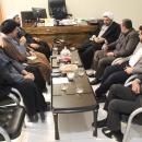 گزارش تصویری : نشست هیات امناء آستان مقدس امامزاده موسی مبرقع علیه السلام با مدیر کل اوقاف قم