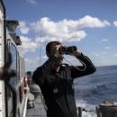 تصاویر تیراندازی ناوهای ایران، روسیه و چین در دریای عمان