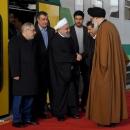 تصاویر افتتاح متروی شهر جدید هشتگرد توسط رئیس جمهور