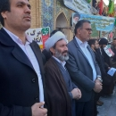 شرکت کارکنان زندانهای قم در حماسه ۹دی