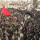 تصاویر راهپیمایی مردم خراسان شمالی در پی شهادت سپهبد حاج قاسم سلیمانی