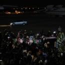 تصاویر ورود پیکر شهید سپهبد قاسم سلیمانی به فرودگاه مهرآباد