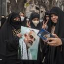 تصاویر تجمع مردمی درحمایت از آغاز انتقام سخت در تبریز