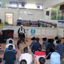 حضور رییس دادگاه اطفال استان قم در جمع عزا داران فاطمی کانون اصلاح و تربیت