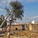تصاویر خسارت سیل به زیرساخت های روستاهای جاسک
