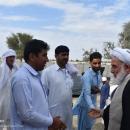 تصاویر بازدید نماینده سیستان و بلوچستان در مجلس خبرگان از مناطق سیل زده