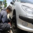 سارق لاستیک های خودرو در بابلسر دستگیر شد
