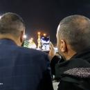 تصاویر حال و هوای بین الحرمین در شب زیارتی ارباب