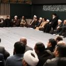 تصاویر دومین شب عزاداری حضرت فاطمهزهرا (س) در حسینیه امام خمینی (ره)