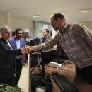 تصاویر بازدید صالحی امیری از خبرگزاری مهر