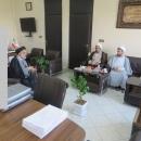 دیدار مدیر کل زندانهای استان با حجت الاسلام طالبی مدیر کل بازرسی استان