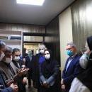 تصاویر بازدید نمایندگان سازمان جهانی بهداشت از بیمارستان مسیح دانشوری