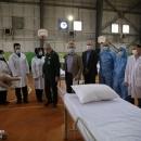 تصاویر بازدید نمایندگان WHO از نقاهتگاههای کرونا در تهران